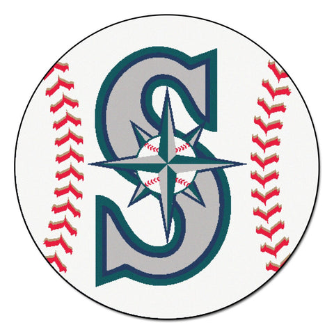 Seattle Mariners Baseball Mat 29 inch