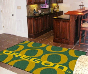 Oregon Ducks Area rug - 4'x6'
