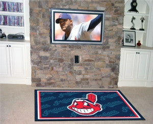 Cleveland Indians Area Rug - 4'x6'