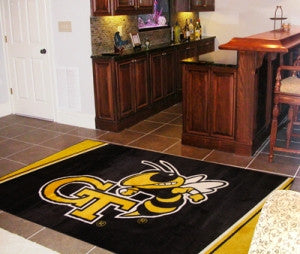 Georgia Tech Yellow Jackets Area Rug - 5'x8'