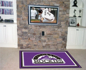 Colorado Rockies Area Rug - 4'x6'