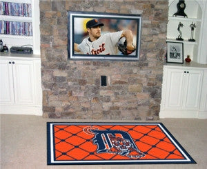 Detroit Tigers Area Rug - 4'x6'