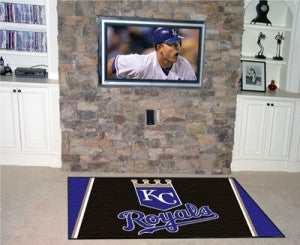 Kansas City Royals Area Rug - 4'x6'