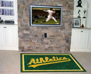 Oakland Athletics Area Rug - 4'x6'