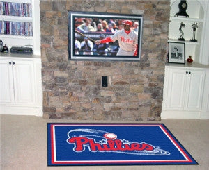 Philadelphia Phillies Area Rug - 5'x8'