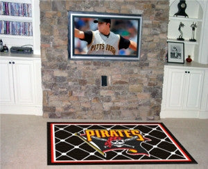 Pittsburgh Pirates Area Rug - 4'x6'