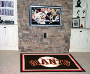 San Francisco Giants Area Rug - 4'x6'