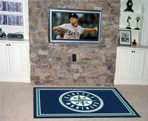 Seattle Mariners Area Rug - 5'x8'