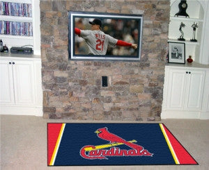 St. Louis Cardinals Area Rug - 5'x8'
