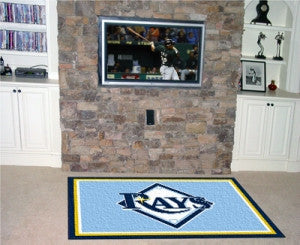 Tampa Bay Rays Area Rug - 5'x8'