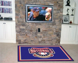 Washington Nationals Area Rug - 4'x6'