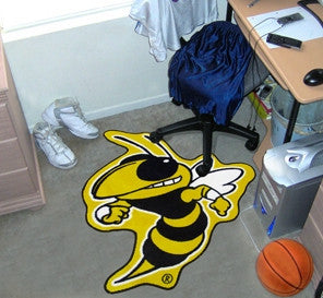 Georgia Tech Yellow Jackets Area Rug - Mascot Style