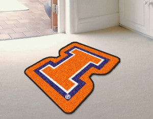 Illinois Fighting Illini Area Rug - Mascot Style