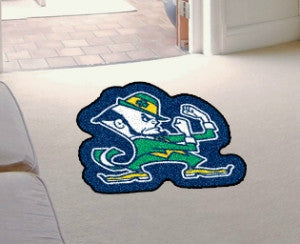 Notre Dame Fighting Irish Area Rug - Mascot Style