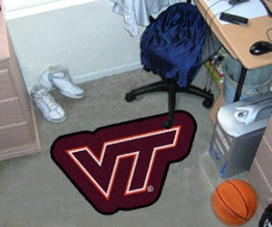 Virginia Tech Hokies Area Rug - Mascot Style