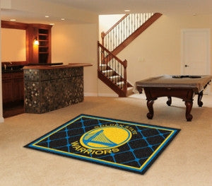 Golden State Warriors Area Rug - 5'x8'