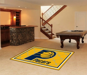 Indiana Pacers Area Rug - 5'x8'