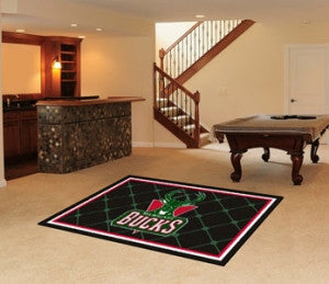 Milwaukee Bucks Area Rug - 5'x8'