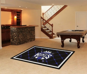 Sacramento Kings Area Rug - 5'x8'