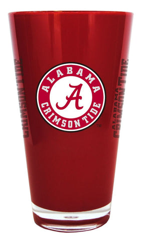 Alabama Crimson Tide Insulated Plastic Pint Glass 20oz