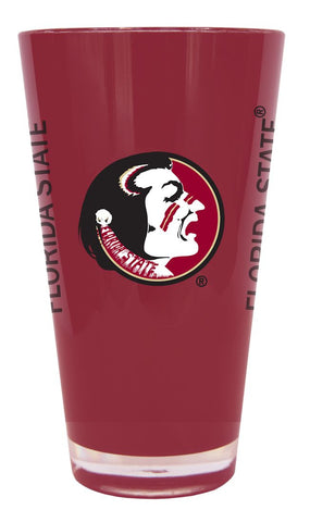 Florida State Seminoles 20 oz Insulated Plastic Pint Glass