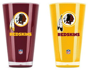 Washington Redskins 20 oz Insulated Plastic Pint Glass
