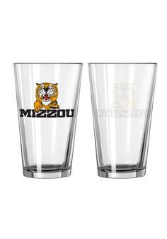 Missouri Tigers 16 oz Pint Glass - The Zou