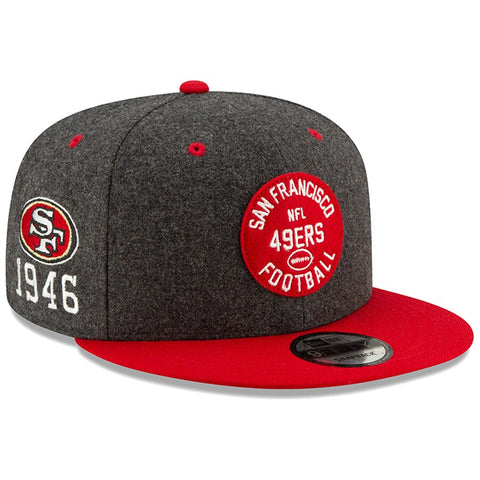 San Francisco 49ers New Era 2019 Sideline Official Home 9FIFTY Snapback Cap