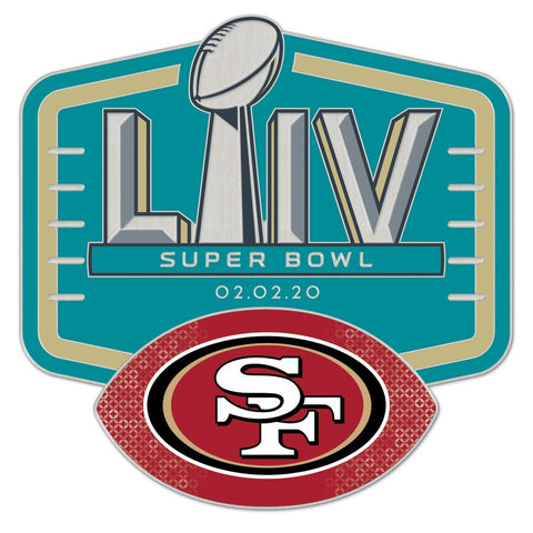 San Francisco 49ers Super Bowl LIV Collectible Pin