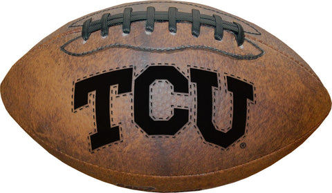 "TCU Horned Frogs Vintage Throwback 9"" Football"