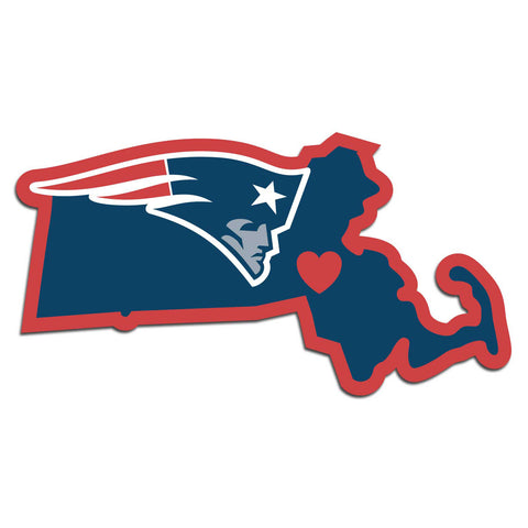 New England Patriots Home State Pride Decal