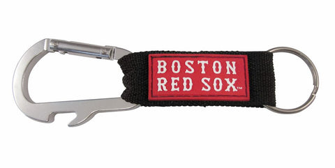 Boston Red Sox Carabiner Keychain