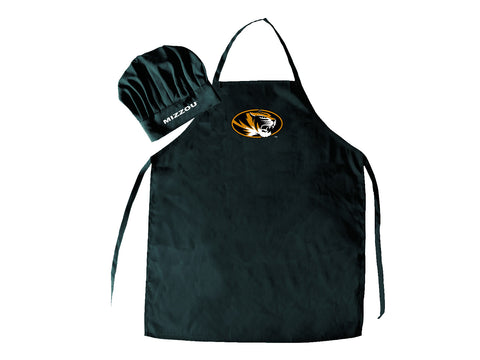 Missouri Tigers Apron and Chef Hat Set