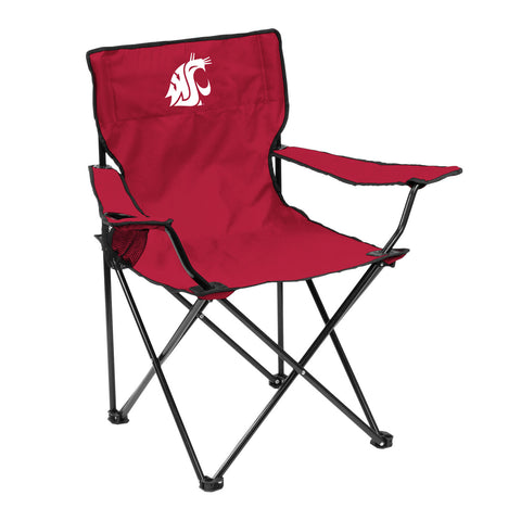 Washington State Cougars Quad Chair - Logo Chair