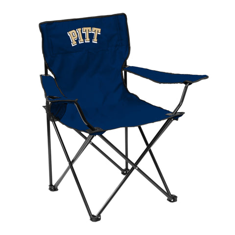 Pittsburgh Panthers Quad Chair - Logo Chair