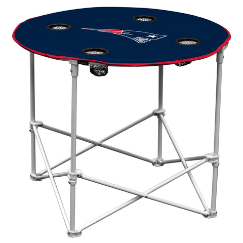 New England Patriots Round Tailgate Table
