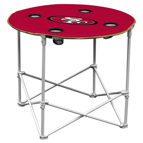 San Francisco 49ers Round Tailgate Table