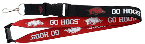 Arkansas Razorbacks Lanyard - Reversible