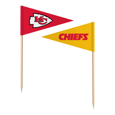 Kansas City Chiefs Toothpick Flags