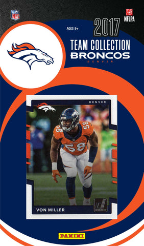 Denver Broncos NFL Team Set 2017 Donruss