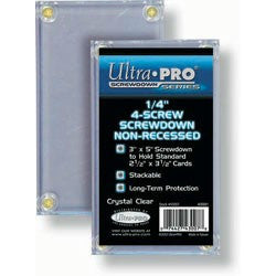 "Ultra Pro Non-Recessed 1/4"" Screwdown Card Holder"