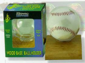 Ultra Pro Baseball Wood Base Holder
