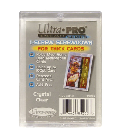1-Screw Screwdown for Thick Cards
