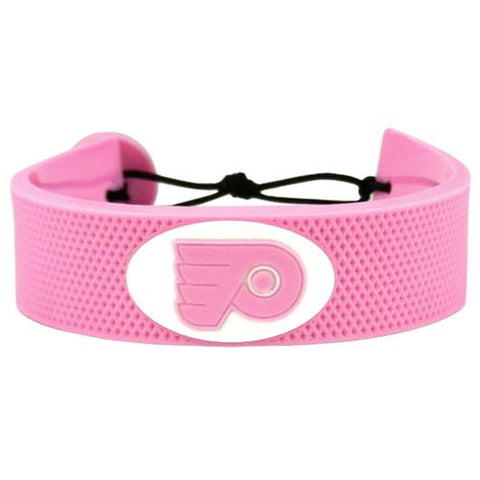 Philadelphia Flyers Bracelet - Pink Hockey