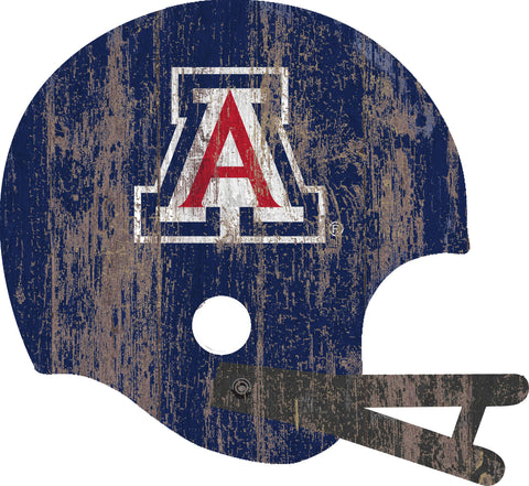 Arizona Wildcats Large Wood Helmet Sign