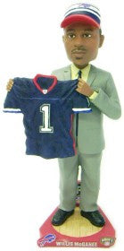 Buffalo Bills Willis McGahee Draft Pick Forever Collectibles Bobblehead