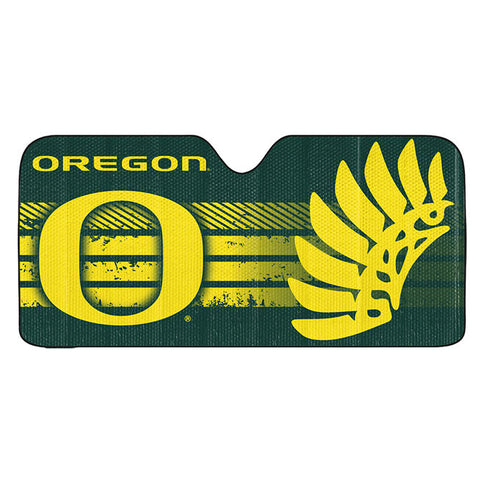 Oregon Ducks Auto Sun Shade 59x27""