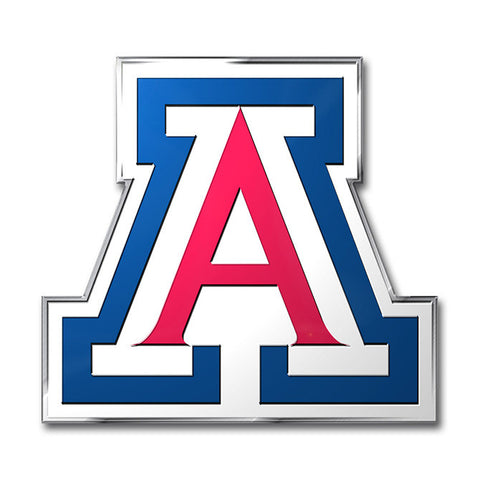 Arizona Wildcats Color Auto Emblem