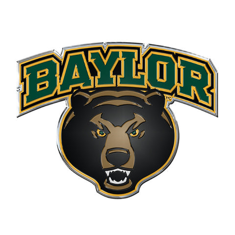 Baylor Bears Color Auto Emblem