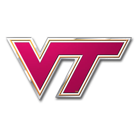 Virginia Tech Hokies Color Auto Emblem